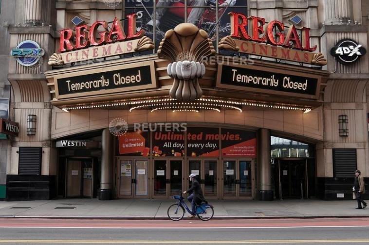 קורונה בארה''ב  - מנהטן ריקה  (צילום: REUTERS/Carlo Allegri)