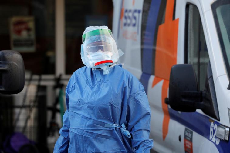 קורונה בארה''ב (צילום:  REUTERS/Andrew Kelly)