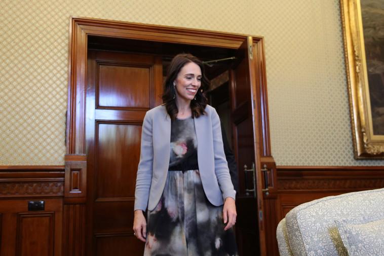 ראש ממשלת ניו זילנד ג'סינדה ארדרן (צילום: Loren Elliott, Reuters)
