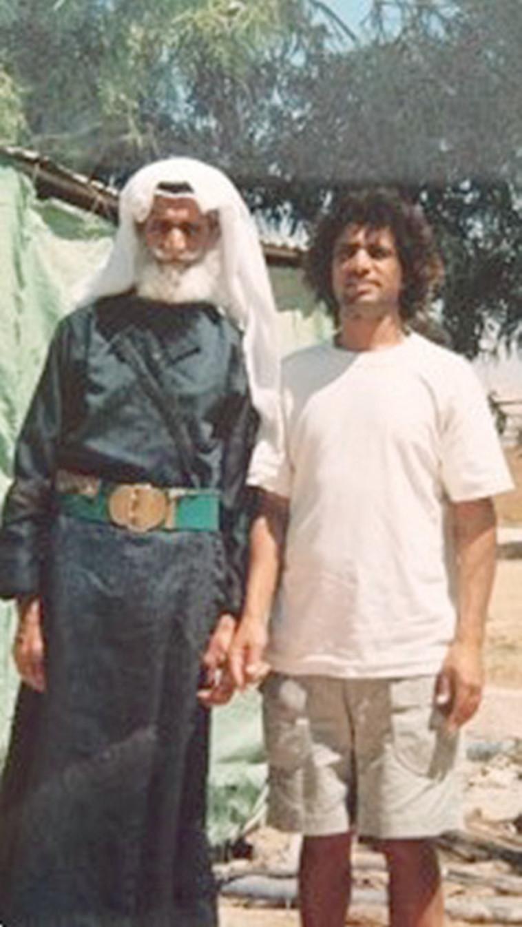 בן אדם אוניברסלי ואביו (צילום: צילום פרטי)