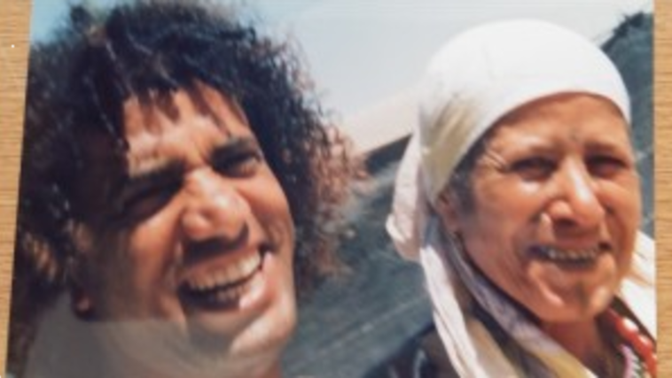 בן אדם אוניברסלי ואמו (צילום: צילום פרטי)
