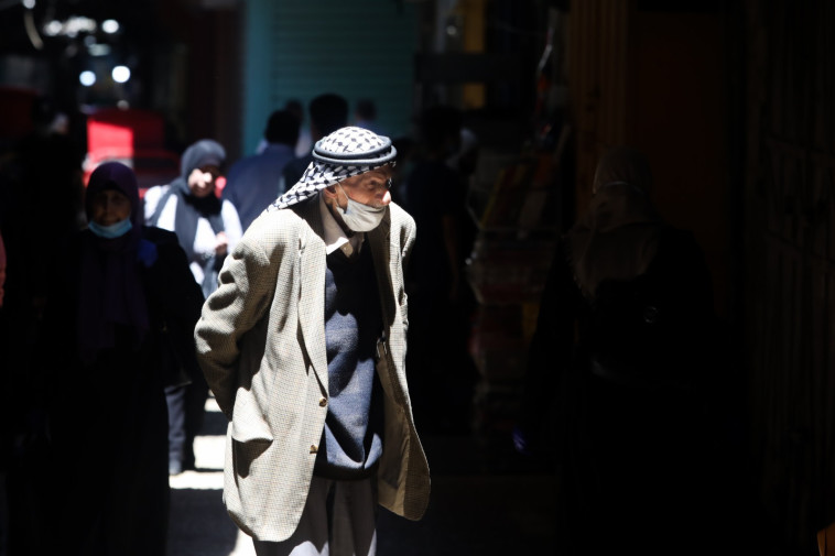 קורונה: השוק במזרח ירושלים (צילום: מרק ישראל סלם)