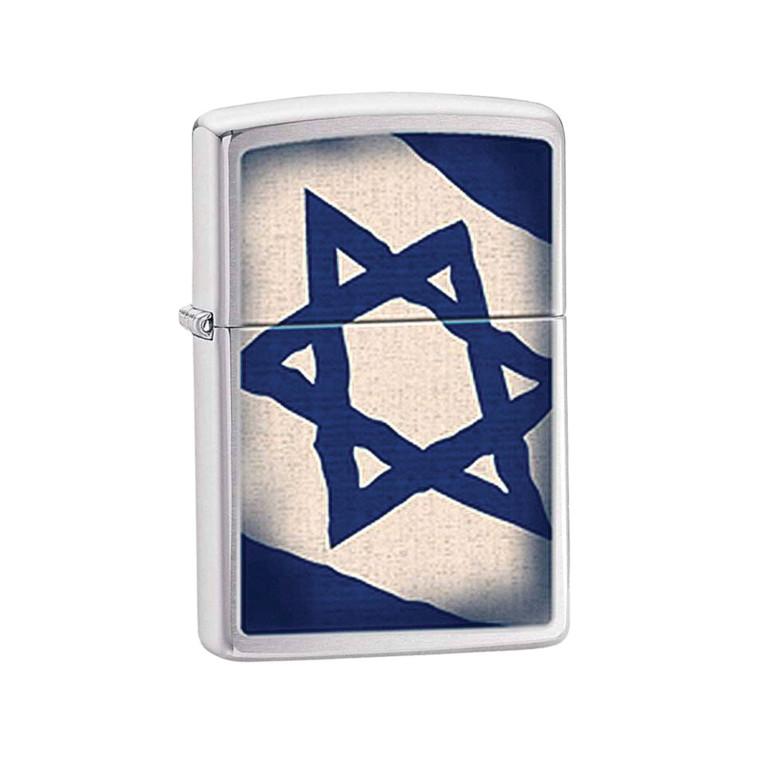 מצית זיפו דגל ישראל (צילום: יח''צ חו''ל)
