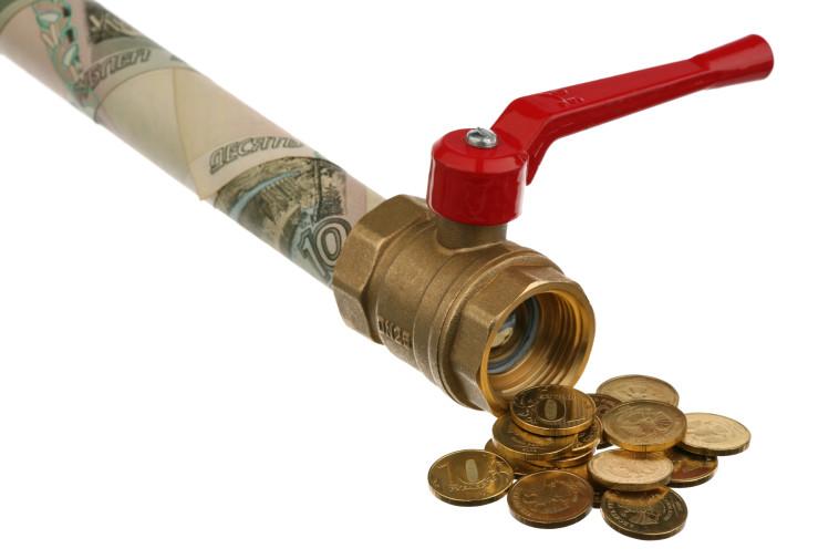 ברז כסף סגור (צילום: אינג אימג')