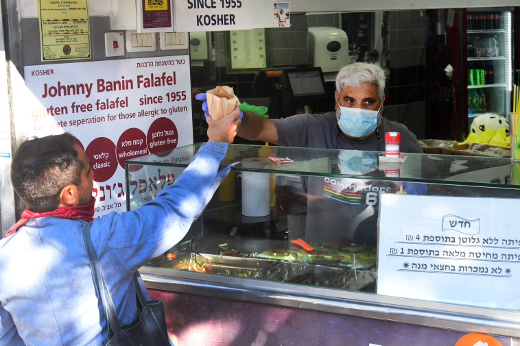 קורונה בישראל - למצולמים אין קשר לנאמר בכתבה  (צילום: אבשלום ששוני)