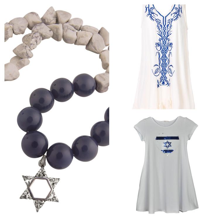 שמלות מבית רשת SELECT ושרשרת מגן דוד בעבודת יד. צילומים: דמיטרי גרין, יח