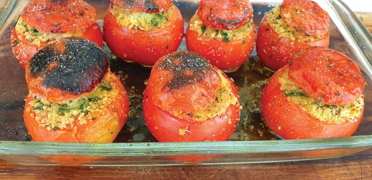 עגבניות פרובנסאל (צילום: ניר קיפניס)