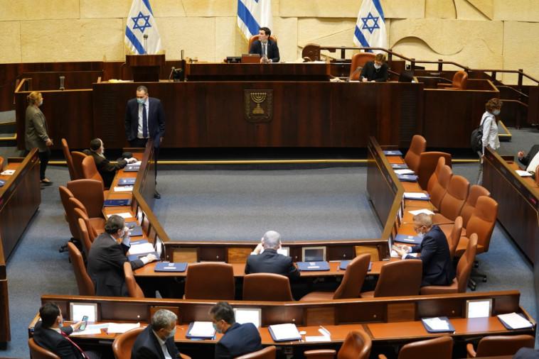 מליאת הכנסת בדיון על חוק הרוטציה (צילום: דוברות הכנסת, שמוליק גרוסמן)