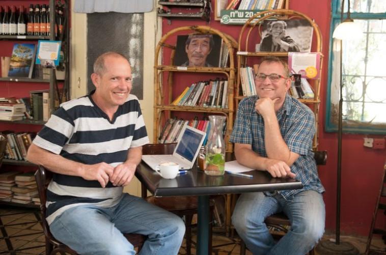 דן גולדברג ודוד ארליך (צילום: טל שוורץ)