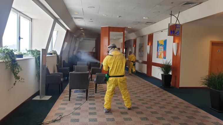 חיטוי מלון דן פנורמה (צילום: באדיבות דן פנורמה ת''א)