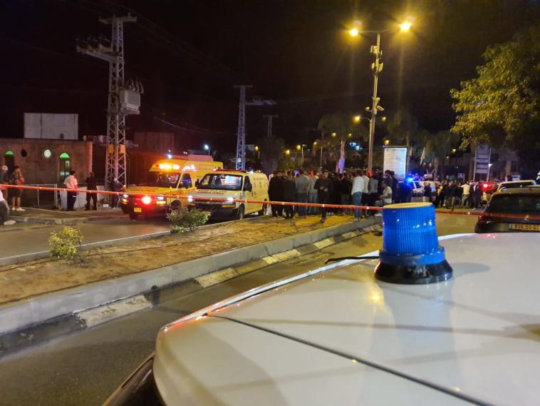 חשד לרצח כפול בדליית אל כרמל (צילום: דוברות המשטרה)