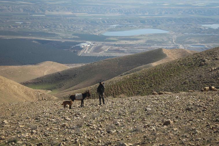 בקעת הירדן (צילום: פלאש 90)