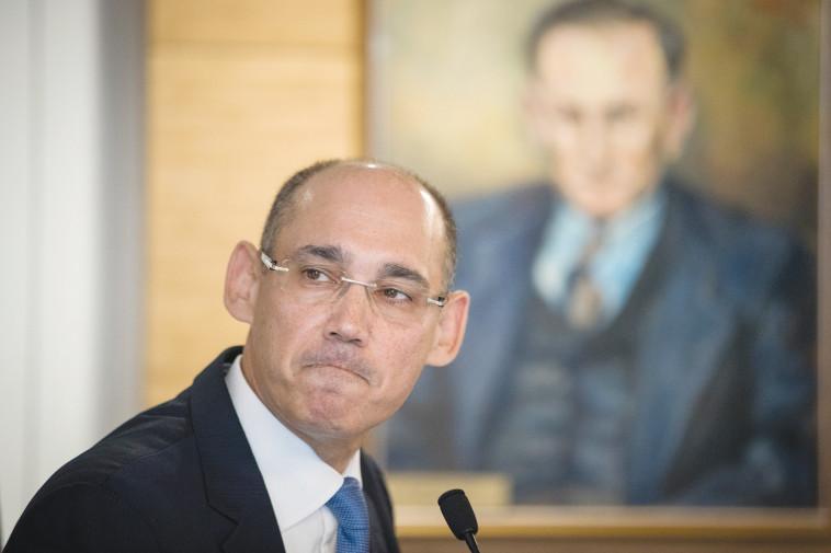 נגיד בנק ישראל פרופ' אמיר ירון  (צילום: יונתן זינדל, פלאש 90)
