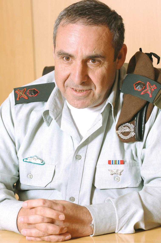"""""""לא אומרים לו לא"""". משה קפלינסקי (צילום: ראובן קסטרו)"""