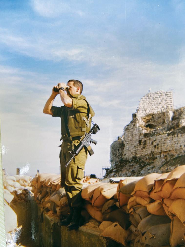 אבמן בבופור (צילום: רמי זרנגר)