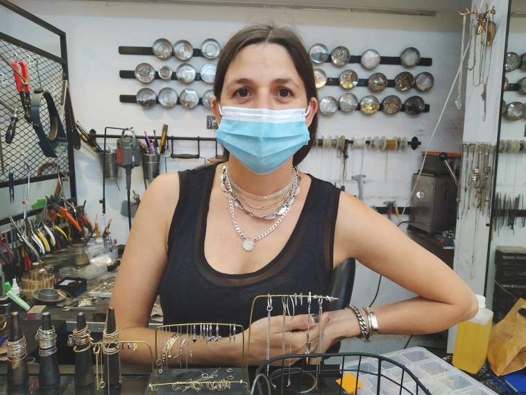 שירן יוסף, חנות התכשיטים קולייר (צילום: אילנה שטוטלנד)