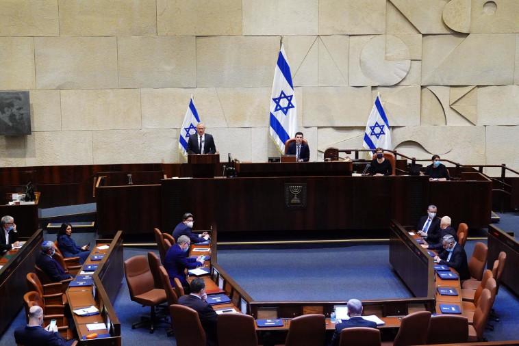 השבעת הממשלה ה-35 (צילום: עדינה וולמן, דוברות הכנסת)