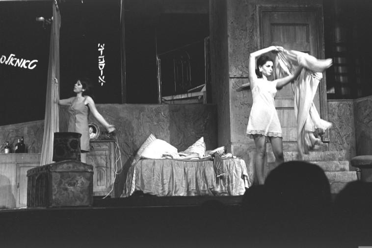 תאטרון האהל (צילום: פריץ כהן, לע''מ)