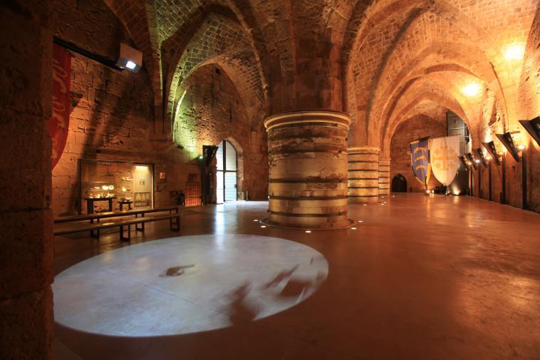 אולם האבירים בעכו (צילום: אלה לייטוס)