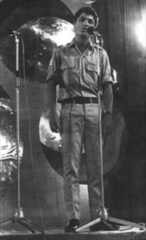 שלמה ארצי, פסטיבל הזמר 1970 (צילום: צילום מסך, הערוץ הראשון)