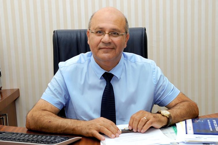 פרופ' חזי לוי (צילום: באדיבות בית החולים ברזילי)