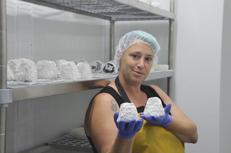 שרון גיניגר-נוי, מחלבת נויהל'ה (צילום: דפנה נוי יצחק )