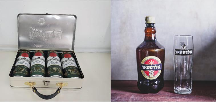 בירה מהחבית מבוקבקת ומארז הים של פאולנר (צילום: יח''צ)