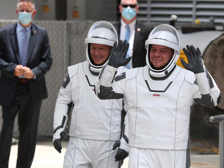 בוב באנקן (משמאל), דאג הארלי (צילום: Joe Raedle/Getty Images)