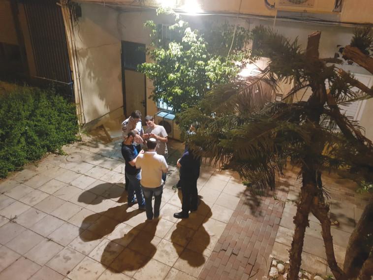זירת הרצח של מאיה ווישניאק בר''ג (צילום: אלון חכמון)