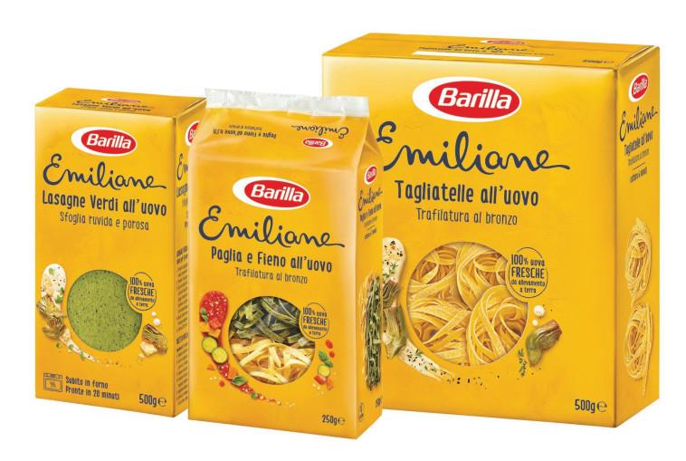 ברילה - סדרת מוצרי פסטה אמיליאנה (צילום: אסף לוי)