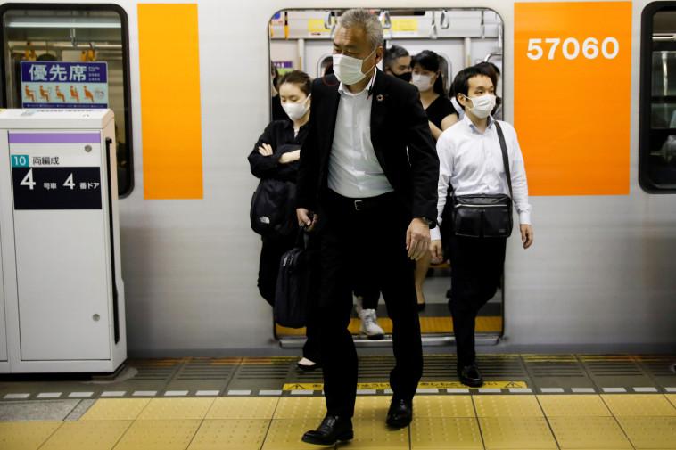 קורונה ביפן   (צילום: REUTERS/Kim Kyung-Hoon)