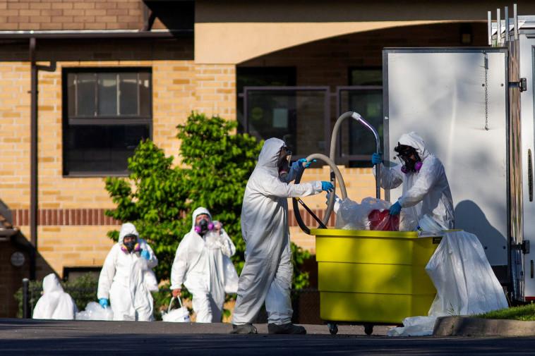 קורונה בבריטניה  (צילום: REUTERS/Carlos Osorio)