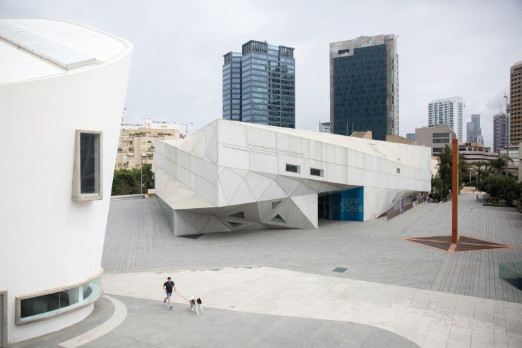 מוזיאון תל אביב (צילום: מרים אלסטר, פלאש 90)