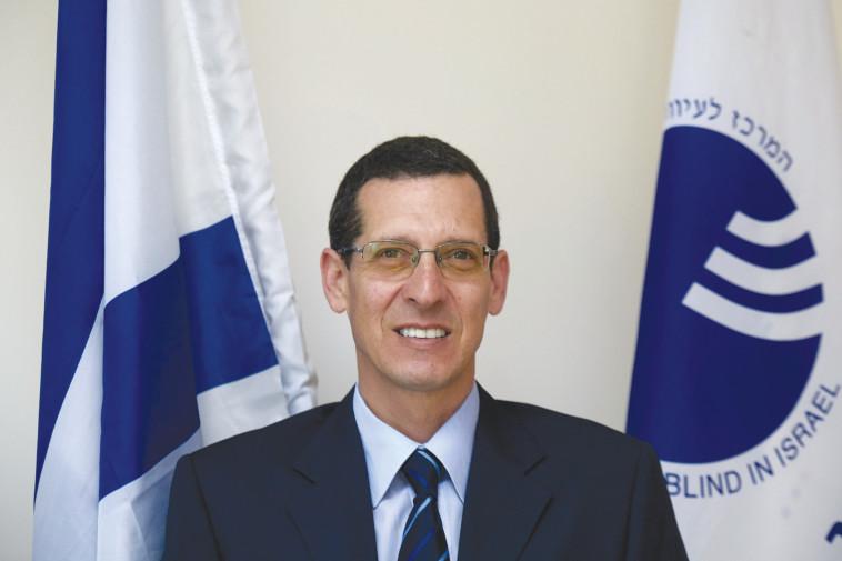 מנכ''ל משרד העיוור בישראל: נתי ביאליסטוק כהן  (צילום: אדם רוזנברג)