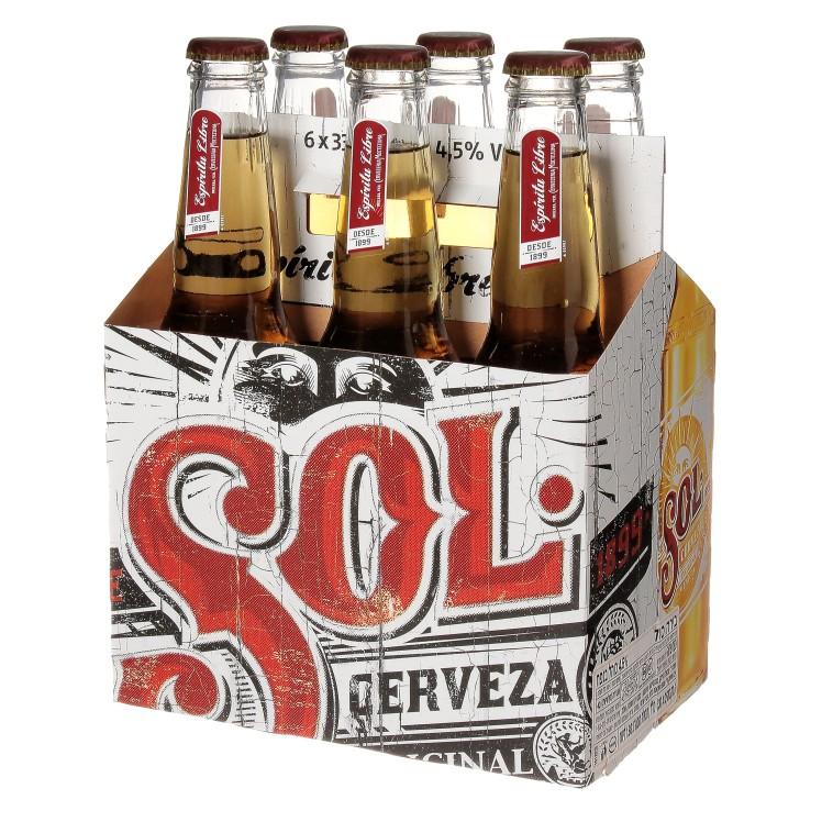 בירה סול  (צילום: Sell360pro)