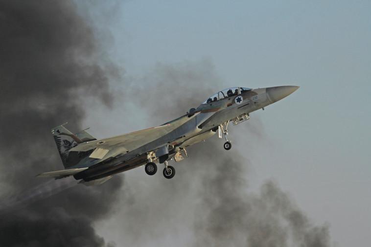 מטוס קרב (צילום: עופר צידון, פלאש 90)