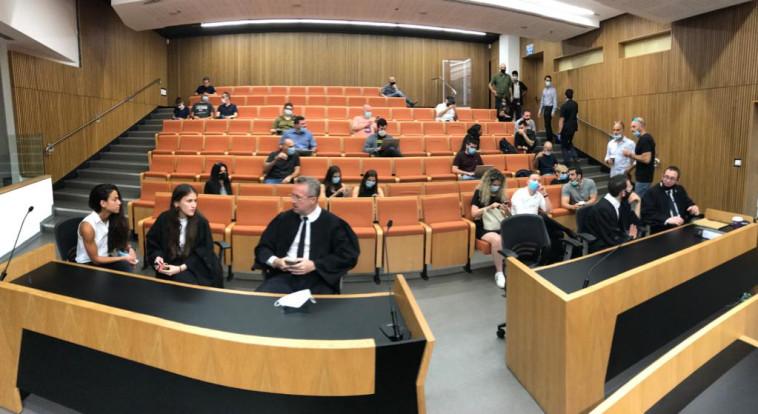אולם בית המשפט (צילום: אבשלום ששוני)