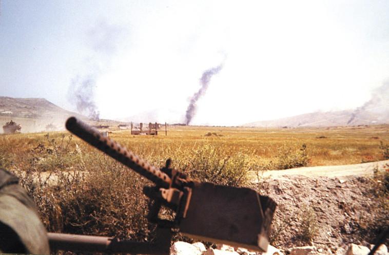 קרב סולטן יעקב (צילום: מנחם בנטוב)
