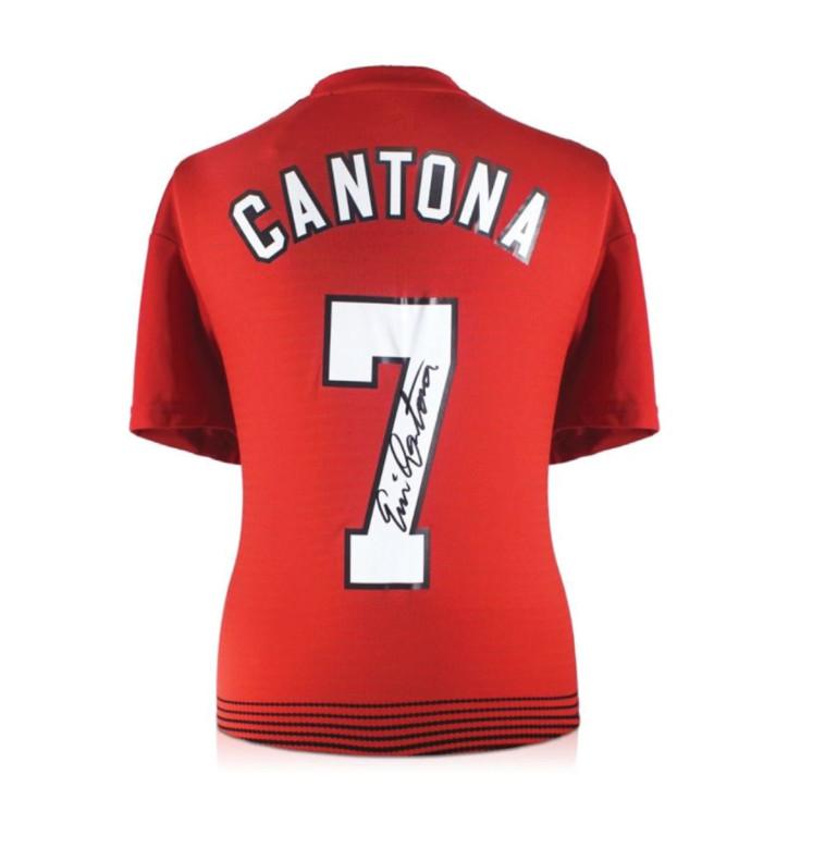 חולצת אריק קאנטונה, מנצ'סטר יונייטד (צילום: מתוך אתר החברה)