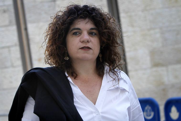 רונית עמיאל גרבי - במשפט קצב  (צילום: מרים אלסטר, פלאש 90)
