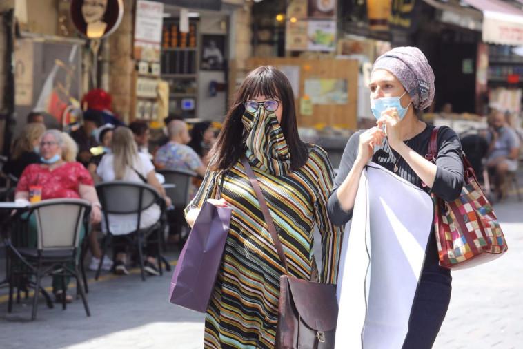 קורונה בישראל - למצולמות אין קשר לנאמר בכתבה  (צילום: מרק ישראל סלם)