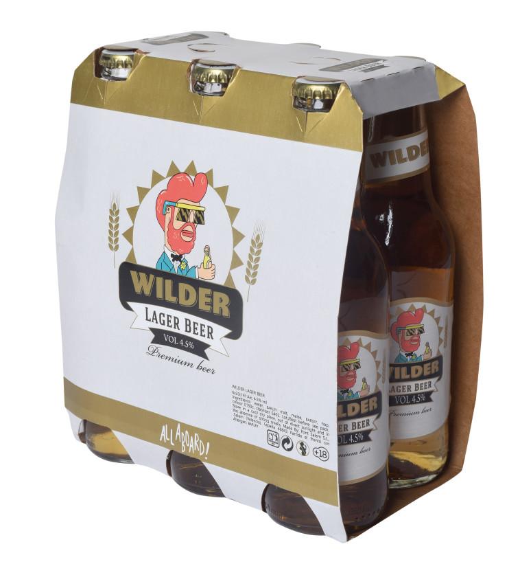בירה ווילדר לאגר  (צילום: יח''צ)