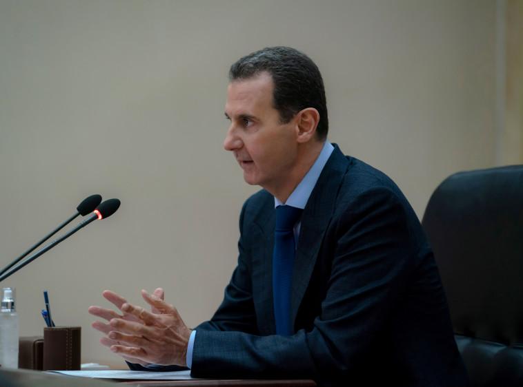 אפילו סוריה בהנהגתו הייתה חברה במועצת הביטחון. בשאר אל-אסד (צילום: Sana Sana/רויטרס)
