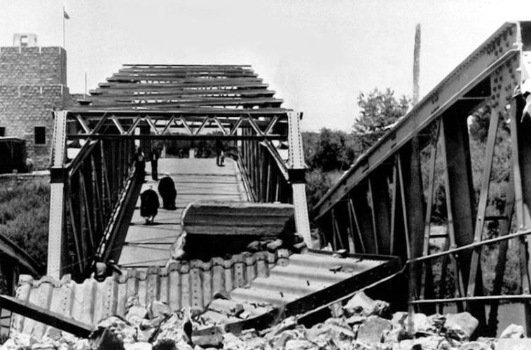 ליל הגשרים (צילום: אוצר תמונות הפלמ''ח)