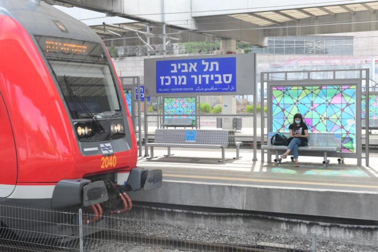 רכבת ישראל - תל אביב -סבידור מרכז (צילום: אבשלום שושני)