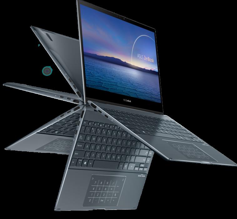 לפטופ - ZenBook Flip 13 של חברת אסוס (צילום: יח''צ)