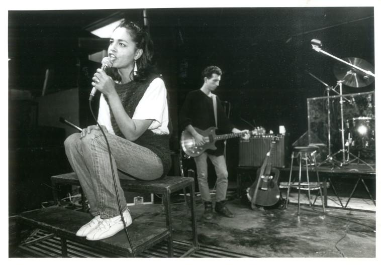 מזי כהן באופרת הרוק ''מאמי'' (צילום: ראובן קסטרו)
