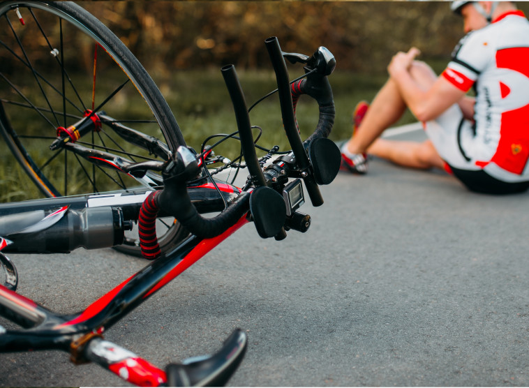 תאונת אופניים (צילום: אילוסטרציה: אינג אימג')