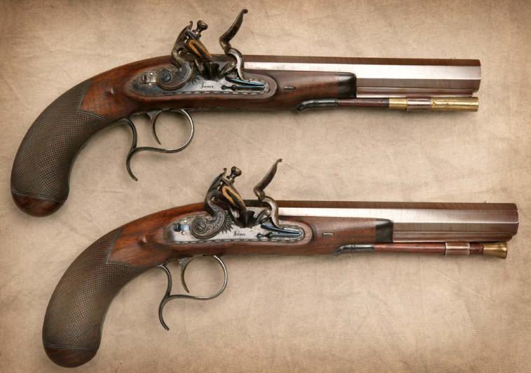 האקדחים של ג'ורג' סמית', גלנליווט  (צילום: יחצ)