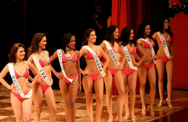 שלב הביקיני, תחרות מלכת היופי של ניקרגואה  (צילום: ויקיפדיה)